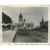 1938 Press Photo Buenos Aires, Argentina Public Building - ftx02195