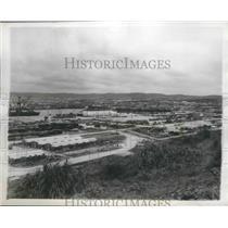 1952 Press Photo Okinawa Island, Naha Port - ftx02200