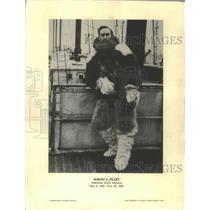 1968 Press Photo Robert E Peary, American Arctic Explorer - ftx02621