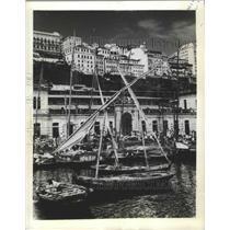 1943 Press Photo Port of Salvador da Baia, Brazil - ftx02756