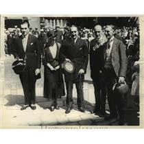1932 Press Photo A group of representatives at Imperial Economic Conference
