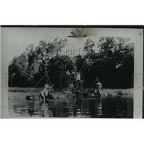 1941 Press Photo Rice culture occupies fields in Annam Tonkin - mjx25069