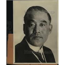 1925 Press Photo Count Sonyu Otani brother of Emperor of Japan in LA - sbx00143