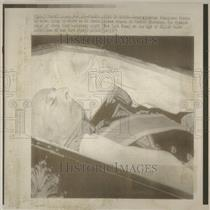 1975 Press Photo Francisco Franco Spain General Death