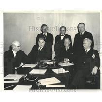 1939 Press Photo Labor Union Negotiations/AFL/CIO