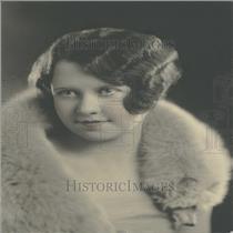 1933 Press Photo Mrs Wilbur George Graf altadena Calif