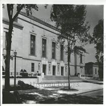 1938 Press Photo Univ Mich Rackham School Building