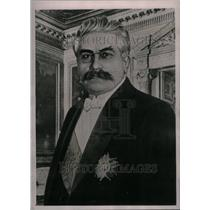 1922 Press Photo Caption President Millerand - RRU30639