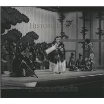 "1965 Press Photo A Scene From ""Kanjincho,"" Kabuki"
