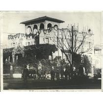 1930 Press Photo President Rubio's home in Mexico City