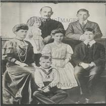 Press Photo King Constantine King Queen Family Service
