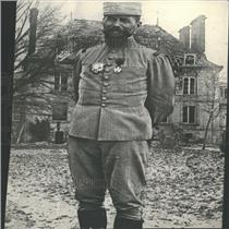 Press Photo Herni Gourad French General Fourth Army
