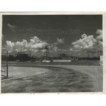 1954 Press Photo Geigy Chemical Corporation in McIntosh, Alabama - abnz00057