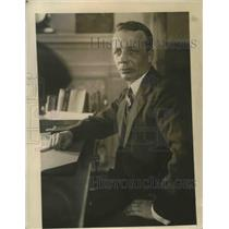 1921 Press Photo Theodore Roosevelt Jr., newly appointed Asst. Secy of Navy