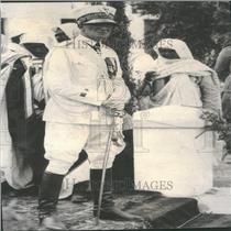 1935 Press Photo General Rudolpho Graziani