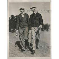 1936 Press Photo brothers Emery and Al Zimmerman compete in PGA Tournament