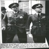 Press Photo General Ironside chief Britain Imperial