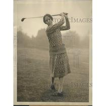 1926 Press Photo Virginia Wilson of Chicago defeats Glenna Collett in Natl. Golf