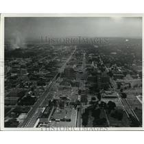 1965 Press Photo Aerial View of Medical Center in Birmingham, Alabama