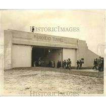 1941 Press Photo Bankhead Tunnel in Mobile, Alabama - abnz00154