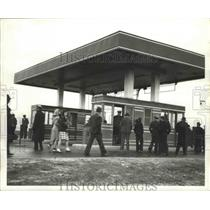 1941 Press Photo Visitors to Bankhead Tunnel in Mobile, Alabama - abnz00157