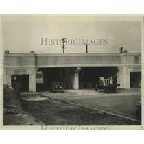 1930 Press Photo Fourteenth Street Underpass in Birmingham, Alabama - abnz00178