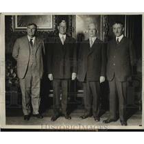 1929 Press Photo Philippine Governor Dwight Davis sworn in in DC - sbx01401