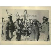 1931 Press Photo Brazil dictator Vargas & Army officer in Rio De Janiero