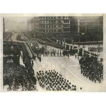 1910 Press Photo Funeral procession of King Edward of England in London