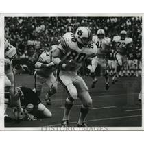 1976 Press Photo Auburn University Football Versus University of Alabama