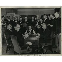 1931 Press Photo Mr. and Mrs. Ely Culbertson and Others Play Contract Bridge