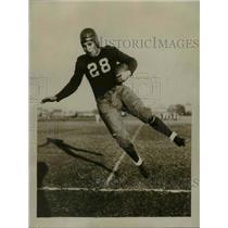 1929 Press Photo Al Moore, Northwestern University football player - sbs03040