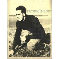 1932 Press Photo Joe Kurth, Tackle, Notre Dame - sbs03066
