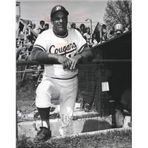 1973 Press Photo Chuck Brayton, W.S.U. Cougars Baseball Coach - sps01299