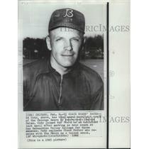 1965 Press Photo Ed Cody, named backfield football coach of the Chicago Bears
