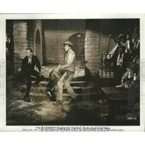 """1957 Press Photo Scene from """"The Last Sunset"""" a Powerful Drama of Conflict"""