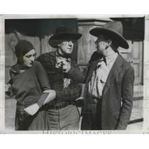 """1926 Press Photo Scene from """"Blackie Yesterday"""" Star Dorothy Revere & Matt Moore"""