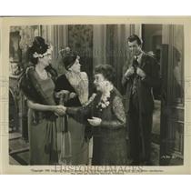 1950 Press Photo Scene from Unknown Universal Picture - lfx05630
