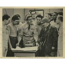 "1957 Press Photo Phil Silvers as ""Sgt. Bilko"" - lfx05698"