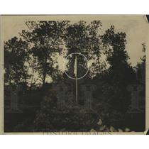 1938 Press Photo Flag over Praco Mine in Alabama - abnz00379
