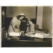 1939 Press Photo Birmingham-Southern College Corner Building Office - abnz00462