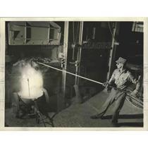 1943 Press Photo Reynalds Metals Company Alumina Plant in Listerhill, Alabama