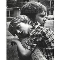 1978 Press Photo Teacher David Finn and student Michael Stanfield in Birmingham