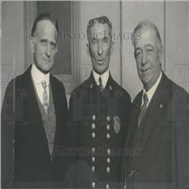 1926 Press Photo Fire Chief Visits Denver Sam Short - RRY30265
