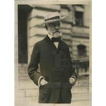 1924 Press Photo Henry Cabot Lodge Grandfather of GOP VP Candidate Senator Lodge