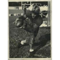 1931 Press Photo Jack White, Quarterback, Purdue University - sbs03153