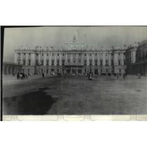 1929 Press Photo Spanish Palace in Madrid belonging to King Alfonzo of Spain