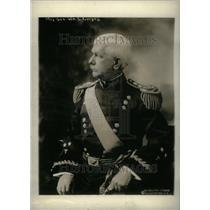 1920 Press Photo Major General William surgoen Peru