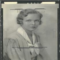 1934 Press Photo Miss Nancy Parks CC Daughter Society