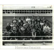 1988 Press Photo Football- All Metro AA Team - noa12314